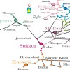 Pakistan Railway Map
