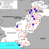 Air base Map Pakistan