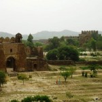 Rohtas_Fort_view_from_Haweli_Maan_Singh