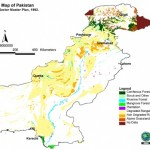forest map of pakistan