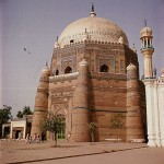 The Tomb of Shah Rukn-i-Alam in Multan, Pakistan
