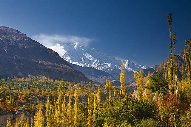 hunza valley view