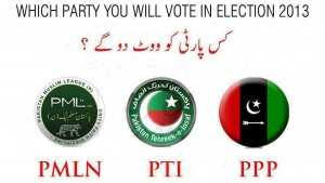 party logos 300x169 Pakistan Election 2013