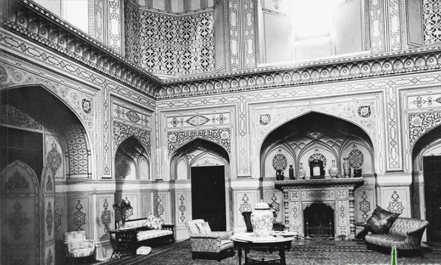 Dining Room of Governor House Lahore 1870