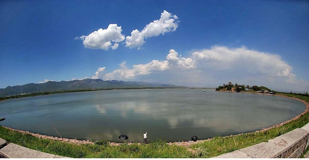 rawal lake whole view