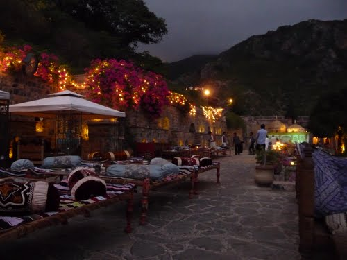 beautiful evening at saidpur village