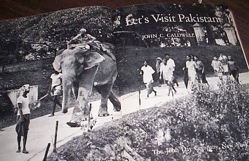 Book by American tourist about Pakistan