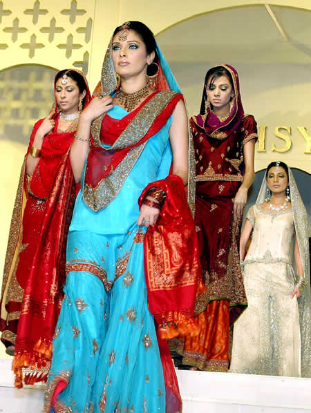 punjabi bridal dresses