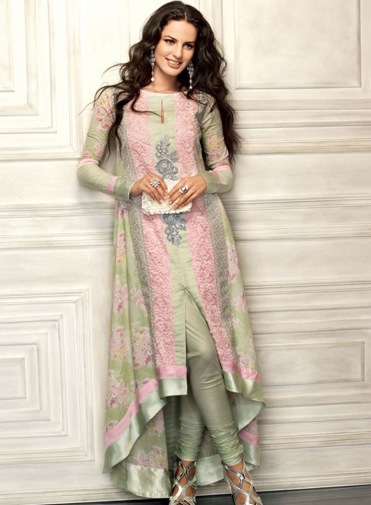 punjabi latest dress for women 754x1024 Punjabi Dress