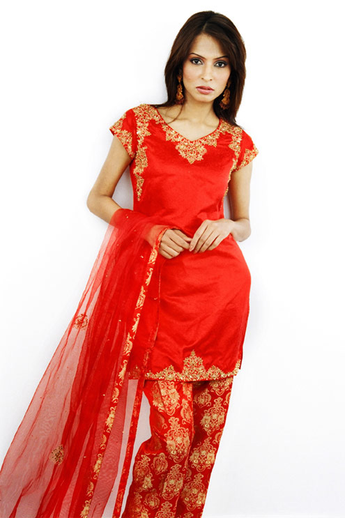 punjabi party dress for women