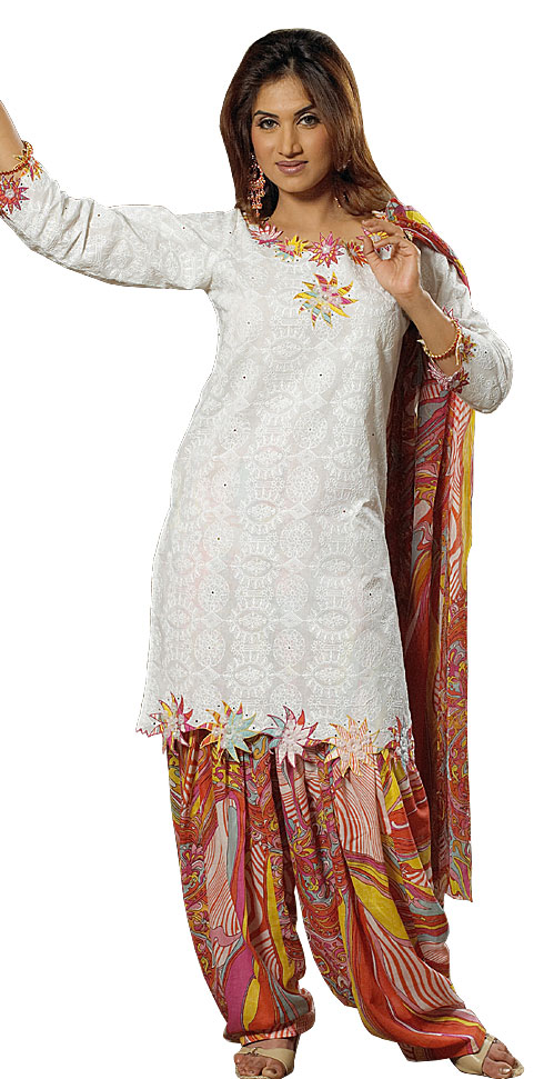 punjabi shalwar kameez for women