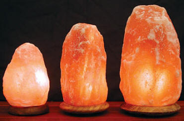 Salt Lamps in sizes