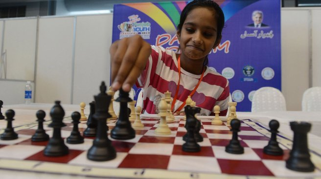chess pieces world record pakistan