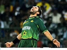 AFRIDI ENJOYING THE VICTORY