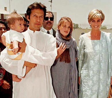 Princess-Diana-with-Imran khan