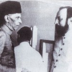 Quaid-e-Azam with Sir Abdullah Haroon