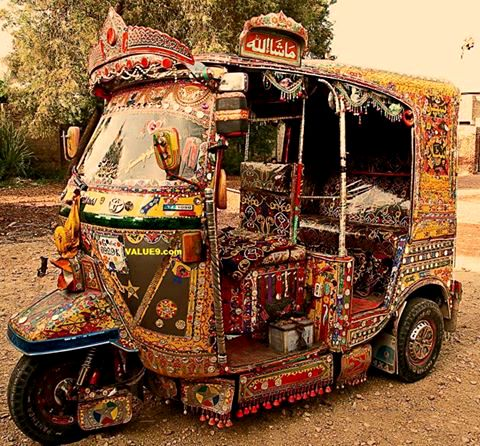 Auto rickshaw dost pakistan for Auto decoration in pakistan