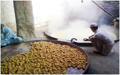 gur making process