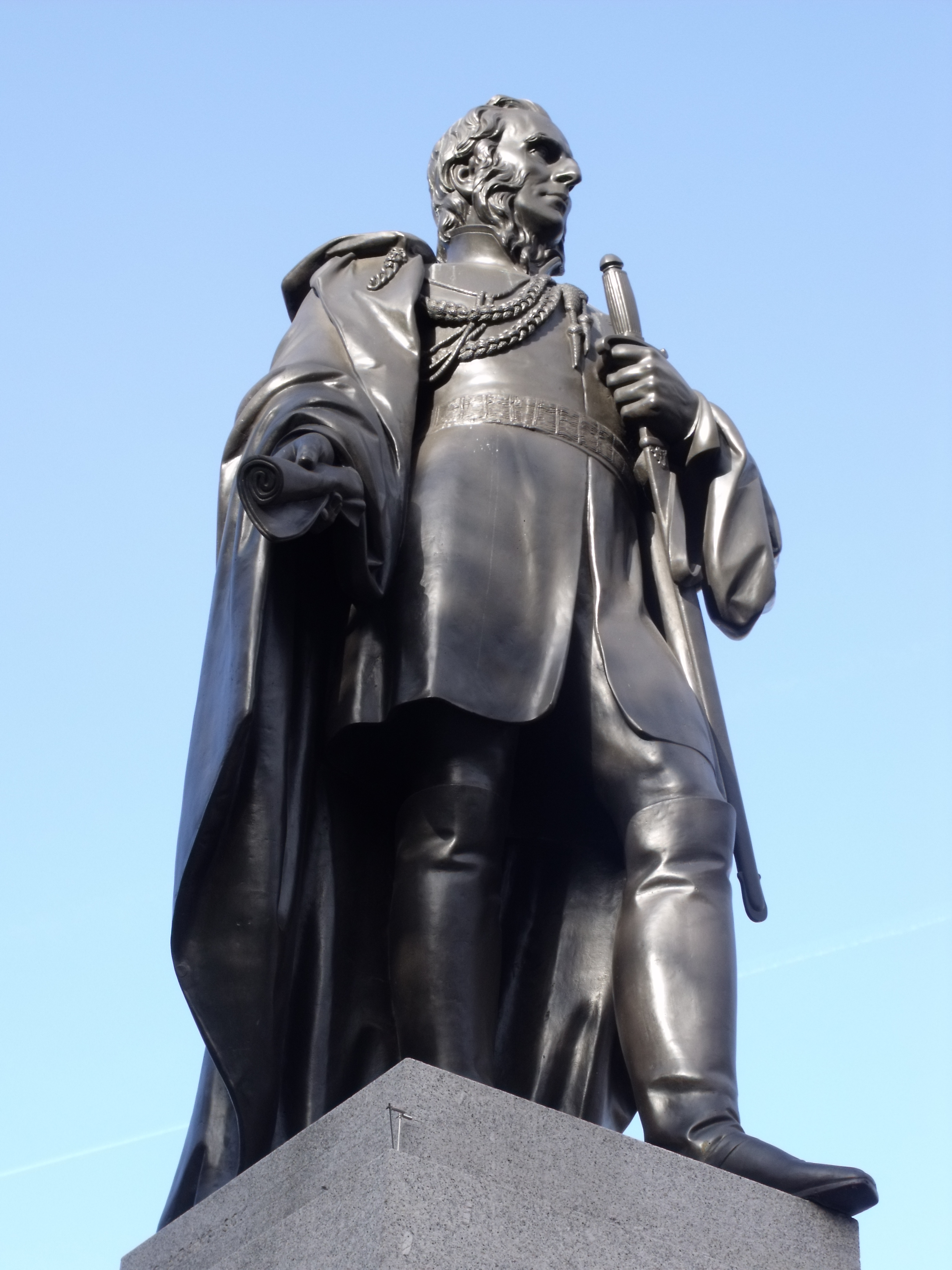 statue of Charles Napier