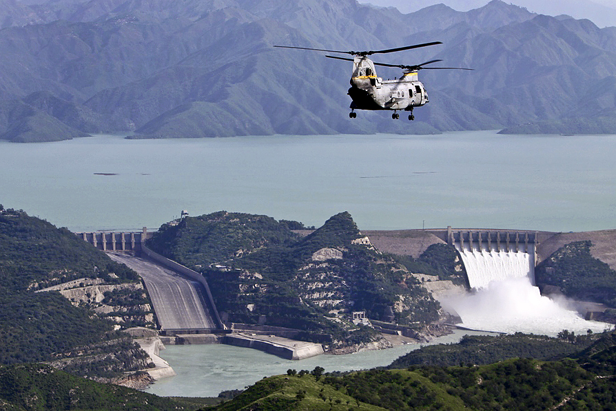 tarbela dam under pakitan army supervision