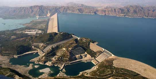 tarbela dam beautiful