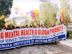 walk for mental patients